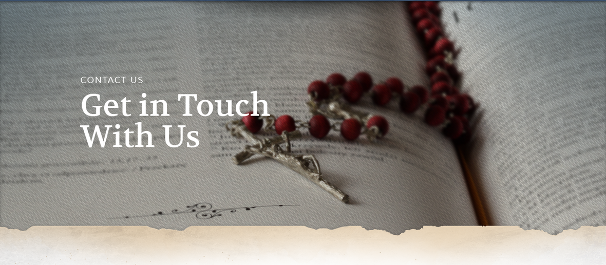 Banner picture for the Contact Us page for Franciscan Brothers in Springfield Illinois