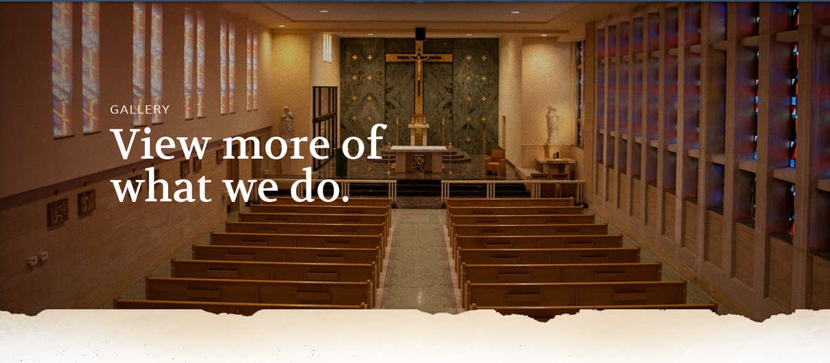 Banner picture for the Gallery page of Franciscan Brothers in Springfield, Illinois